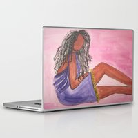 legs Laptop & iPad Skins featuring Legs by Robin's Illustrations
