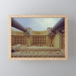 Details of Fourviere Church in Lyon - Fine Art Photography Framed Mini Art Print
