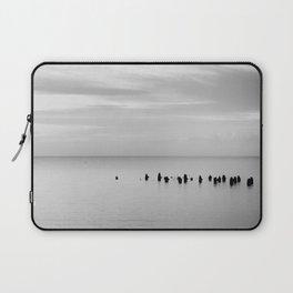 BEACH DAYS XXVIII BW Laptop Sleeve