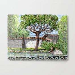 City Landscapes - Laghetto di Villa Ada - Rome - Italy Metal Print