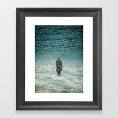 Up is down Framed Art Print