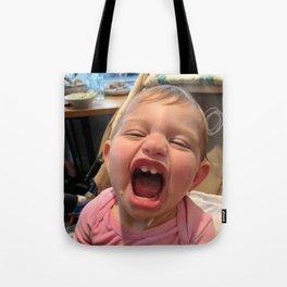 Smiling Kid Tote Bag