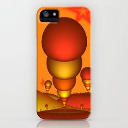 Fantasy Landscape, Fractal Art iPhone Case