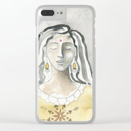 Mind and Heart Aligned Clear iPhone Case
