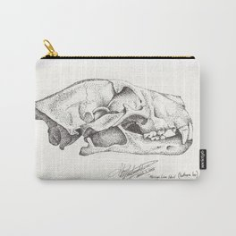 African Lion Skull (Panthera leo) Carry-All Pouch