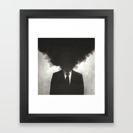 Confessions of a Guilty Mind. Framed Art Print
