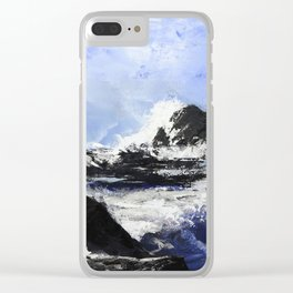 Top of success Clear iPhone Case