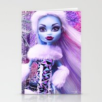 monster high Stationery Cards featuring Monster High Abbey Doll MHSQ by Renée