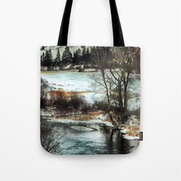 Down By The Waters Edge - Graphic 2 Tote Bag