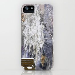 The Magic Of A Winter Day iPhone Case
