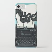 typewriter iPhone & iPod Cases featuring Typewriter by Felix Hornoiu