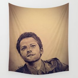 Misha Collins Wall Tapestry