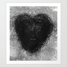 heart of love Art Print