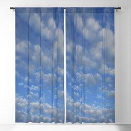 Cloudy sky Blackout Curtain