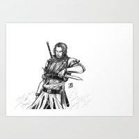 Rogue Warrior Art Print