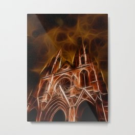 Sainte-Clotilde Basilica in Paris Metal Print