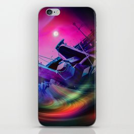 Our world is a magic - Time Tunnel 2 iPhone Skin