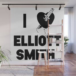 I Heart Elliott Smith Wall Mural