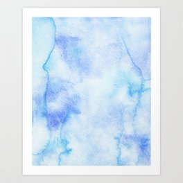 Ocean Blues Art Print