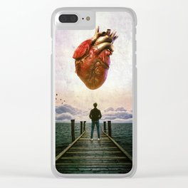 The Instrospection Clear iPhone Case