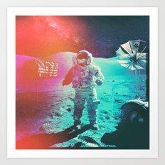 Project Apollo - 3 Art Print