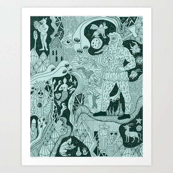 Wizard Dreams Art Print