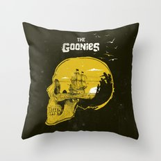 The Goonies art movie inspired Throw Pillow