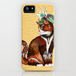Wizard Cat iPhone Case