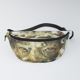 Shell face Fanny Pack