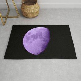 4K Dark Side of the Moon Violet Rug