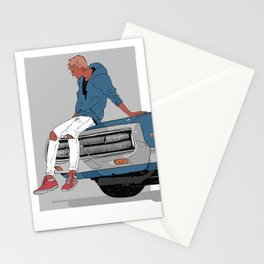 Little Finch and the Car Stationery Cards