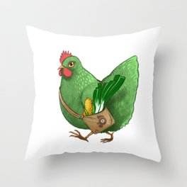 Poupoule Throw Pillow