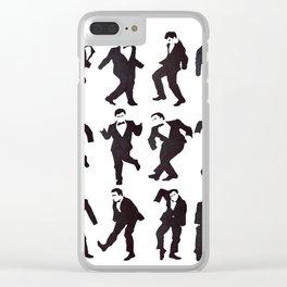 Gentlemen Clear iPhone Case