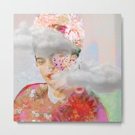 The essence of Frida Metal Print