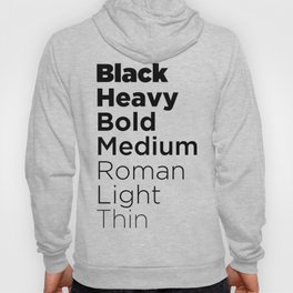 To Go Boldly Hoody