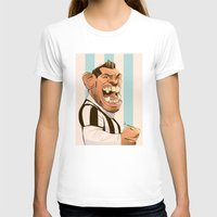 juventus T-shirts featuring Carlos Tévez by nachodraws