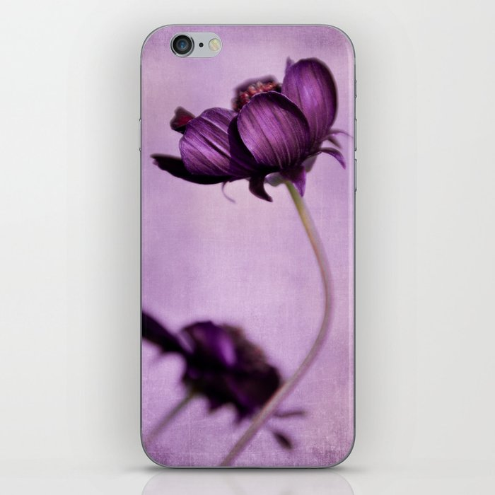 purple blossoms iPhone Skin
