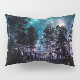 One Magical Night... teal & purple Pillow Sham