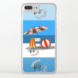 Summer - Viva la Vida Clear iPhone Case