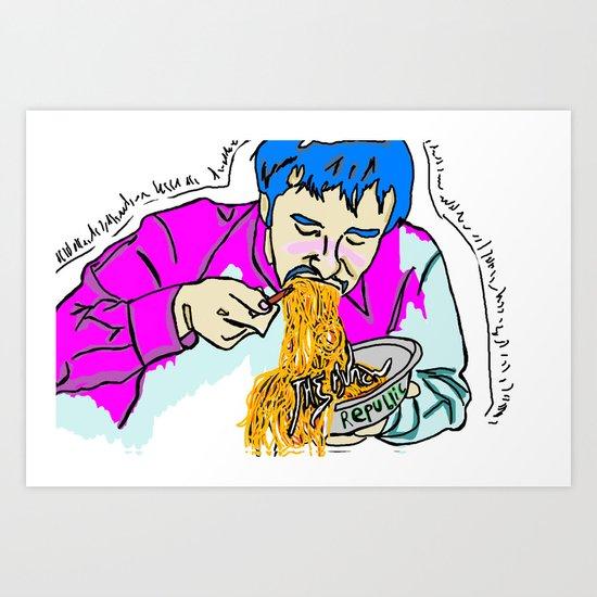 the munch republic Vol. Paul  Art Print