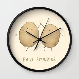 Best Spuddies Wall Clock