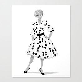 Gigi 01 Canvas Print