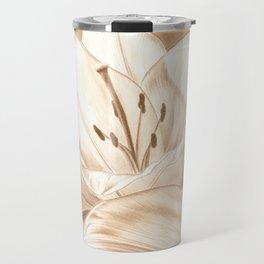 Lilies Travel Mug