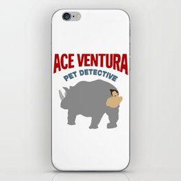 ACE VENTURA RHINO DISGUISE iPhone Skin