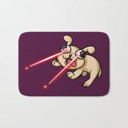 Laser Puppy Bath Mat