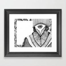 KISS I Framed Art Print