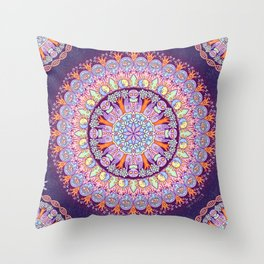 Galactic Alignment Throw Pillow