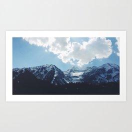 Timp at Sundance Art Print