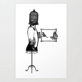 Bird Man Art Prints Society6