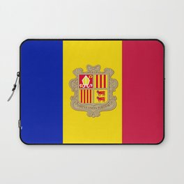 Andorra Flag Laptop Sleeve
